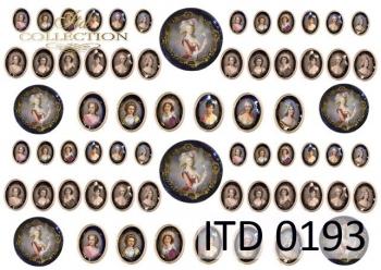 Papier decoupage ITD D0193