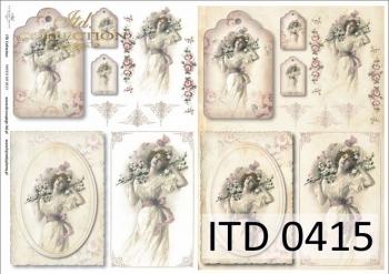 Papier decoupage ITD D0415M