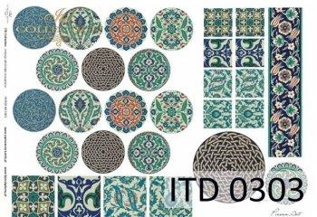 Papier decoupage ITD D0303