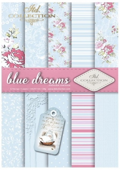 .Papier do scrapbookingu SCRAP-041 ''blue dreams''