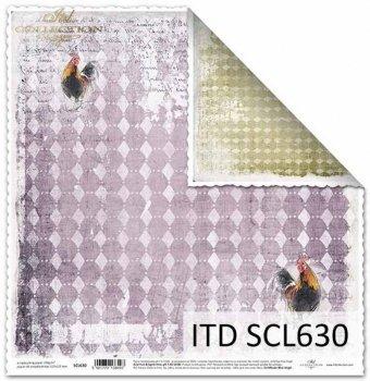 Papier scrapbooking SCL630