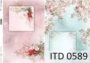 Papier decoupage ITD D0589