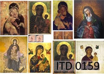 Papier decoupage ITD D0159