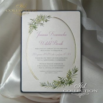 Zaproszenia ślubne / zaproszenie 2073