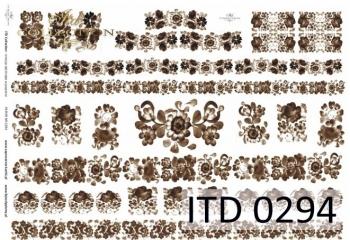Papier decoupage ITD D0294M