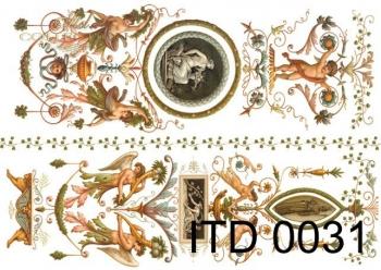 Papier decoupage ITD D0031M