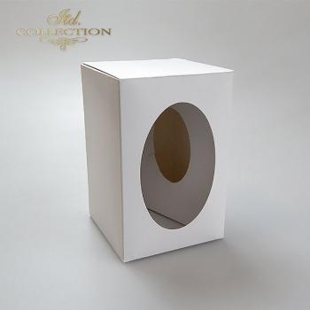 Pudełko na jajko 7 cm do decoupage 10 sztuk