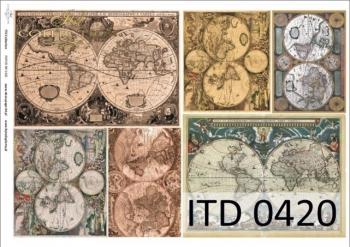 Papier decoupage ITD D0420M