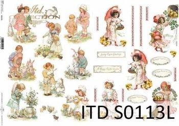 Papier decoupage SOFT ITD S0113L