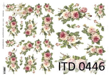 Papier decoupage ITD D0446M