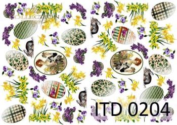 Papier decoupage ITD D0204