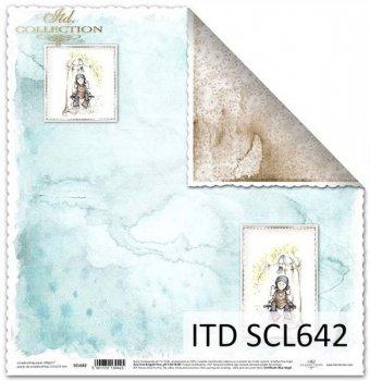 Papier scrapbooking SCL642