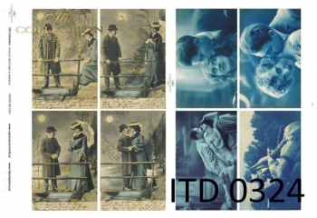 Papier decoupage ITD D0324M