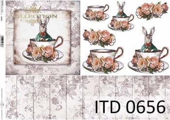 Papier decoupage ITD D0656