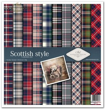 Zestaw do scrapbookingu SLS-017 Scottish style