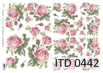 Papier decoupage ITD D0442