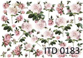 Papier decoupage ITD D0183M