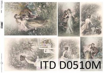 Papier decoupage ITD D0510M