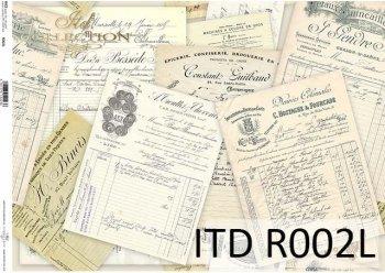 Papier ryżowy ITD R0002L