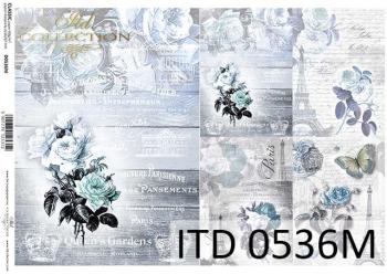 Papier decoupage ITD D0536M
