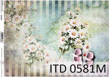 Papier decoupage ITD D0581M