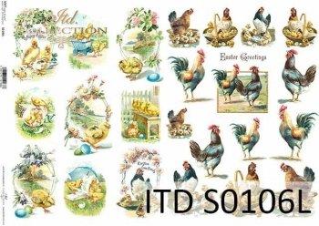 Papier decoupage SOFT ITD S0106L