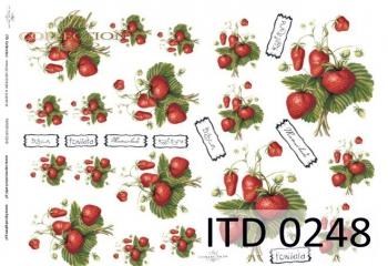 Papier decoupage ITD D0248