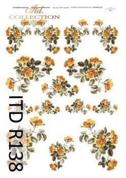 Papier ryżowy ITD R0138