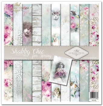 Zestaw do scrapbookingu SLS-008 ''Shabby Chic for spring''