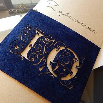 Zaproszenie biznesowe ZB1052 z kopertą