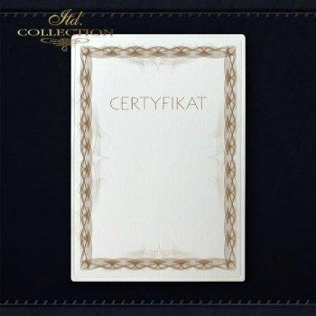 dyplom DS0325 certyfikat