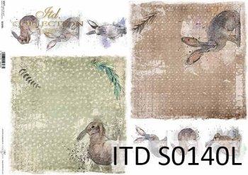 Papier decoupage SOFT ITD S0140L