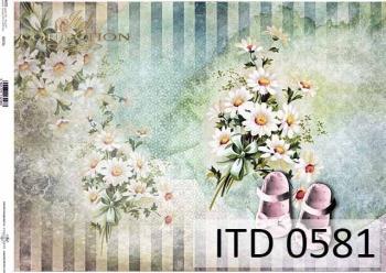 Papier decoupage ITD D0581