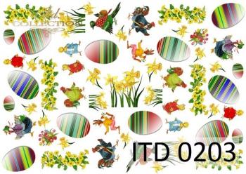 Papier decoupage ITD D0203M