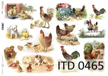 Papier decoupage ITD D0465M