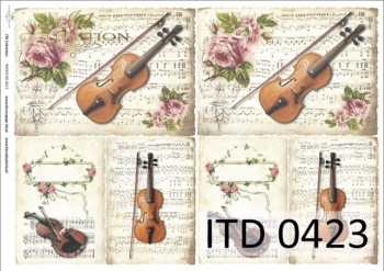 Papier decoupage ITD D0423M