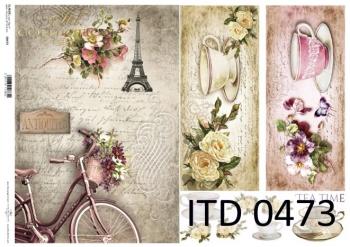 Papier decoupage ITD D0473