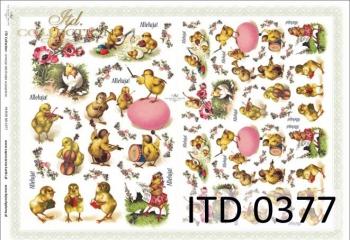 Papier decoupage ITD D0377M