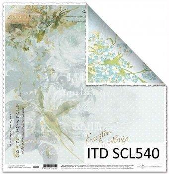Papier scrapbooking SCL540