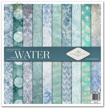 Zestaw do scrapbookingu SLS-012 Four elements ''Water''