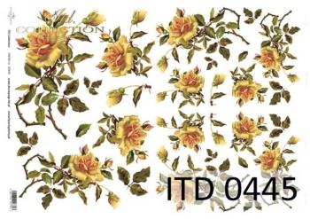 Papier decoupage ITD D0445M