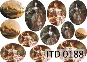 Papier decoupage ITD D0188