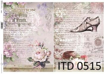 Papier decoupage ITD D0515