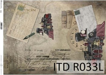 Papier ryżowy ITD R0033L