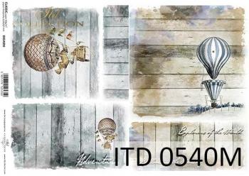 Papier decoupage ITD D0540M