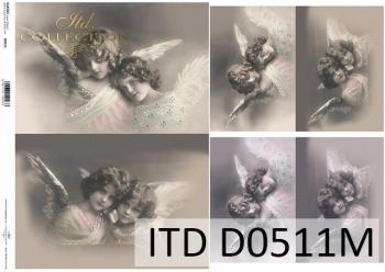 Papier decoupage ITD D0511M