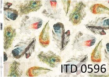 Papier decoupage ITD D0596
