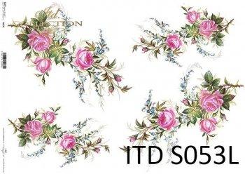 Papier decoupage SOFT ITD S0053L