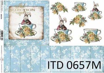 Papier decoupage ITD D0657M