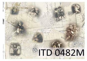Papier decoupage ITD D0482M